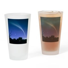 Artwork of a comet - Drinking Glass