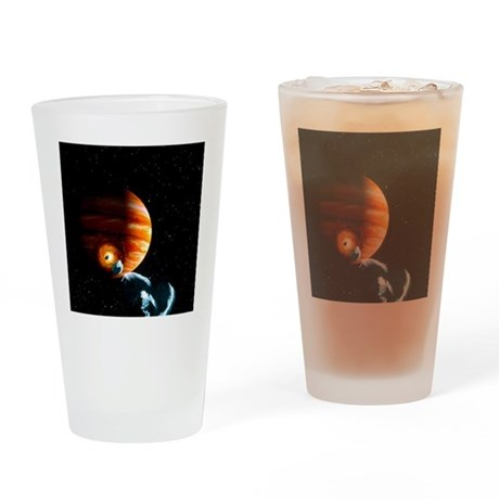 Jupiter, 1994 - Drinking Glass