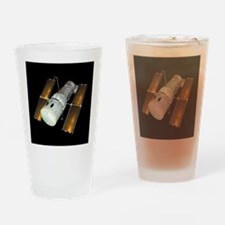 Hubble Space Telescope, artwork - Drinking Glass