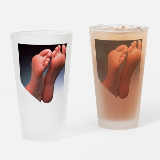 Soles of feet - Drinking Glass