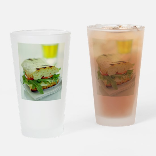 Toasted cheese sandwich - Drinking Glass