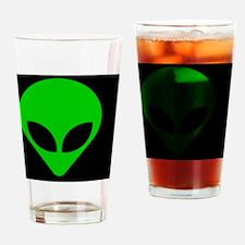 Alien face - Drinking Glass