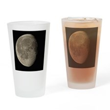 Waning gibbous Moon - Drinking Glass