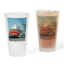 Container ship - Drinking Glass