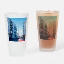Mobile phone mast - Drinking Glass