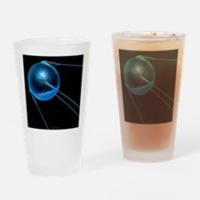 Sputnik 1 satellite - Drinking Glass
