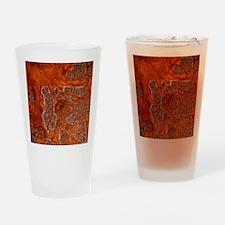 Rust seen on a steel sheet - Drinking Glass