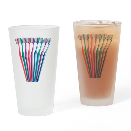 Toothbrushes - Drinking Glass