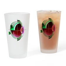 Human eye - Drinking Glass
