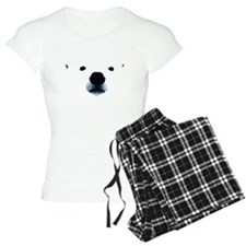 Polar Bear Face Pajamas