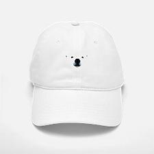 Polar Bear Face Baseball Baseball Cap