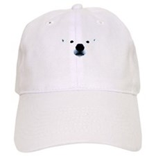 Polar Bear Face Baseball Cap