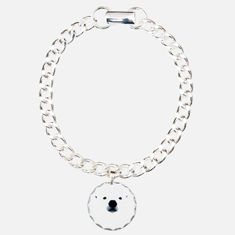Polar Bear Face Bracelet
