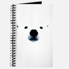 Polar Bear Face Journal