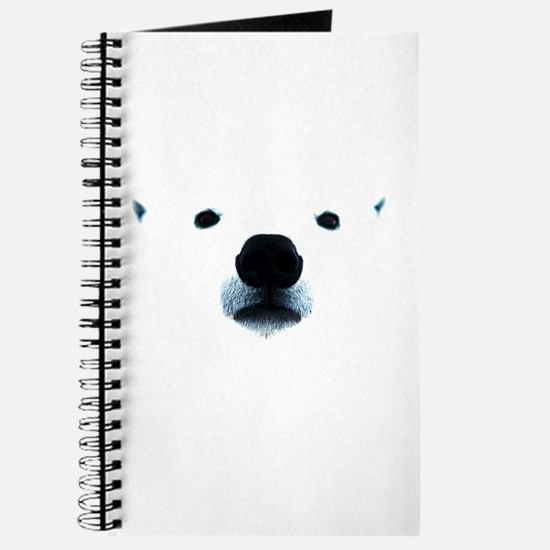 Polar Bear Face Journal