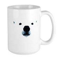 Polar Bear Face Mug