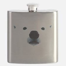 Polar Bear Face Flask