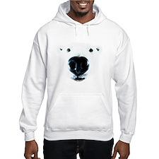 Polar Bear Sniff Hoodie Sweatshirt