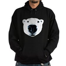 Polar Bear Sniff Hoodie