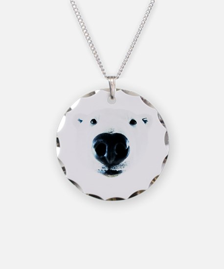 Polar Bear Sniff Necklace