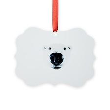 Polar Bear Sniff Ornament