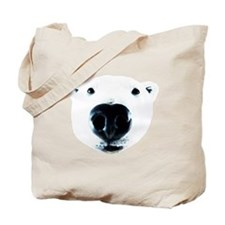 Polar Bear Sniff Tote Bag