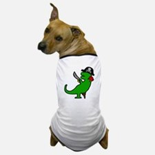 Pirate Dinosaur Dog T-Shirt