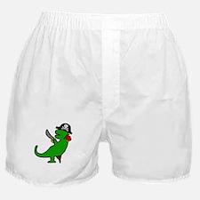Pirate Dinosaur Boxer Shorts