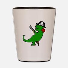 Pirate Dinosaur Shot Glass
