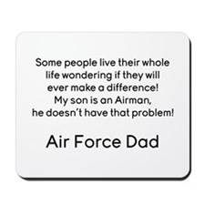 AF Dad Son Difference Mousepad
