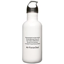 AF Dad Son Difference Water Bottle