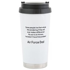 AF Dad Son Difference Travel Mug