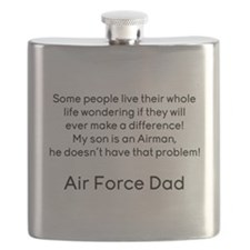 AF Dad Son Difference Flask
