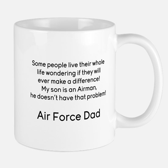 AF Dad Son Difference Mug
