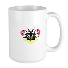 Rorschach RAINBOW Inkblot Test Psychology Mug