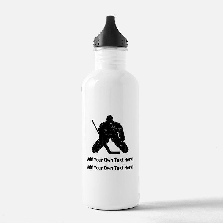 Personalize It, Hockey Goalie Water Bottle