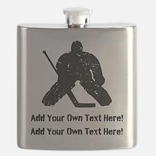 Personalize It, Hockey Goalie Flask