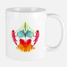 Rainbow Rorschach Inkblot Coffee Mug