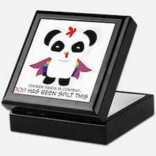 Chicken Panda Keepsake Box