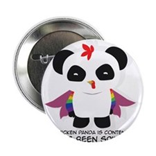 "Chicken Panda 2.25"" Button"