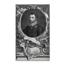 Francis Drake, English explorer - 3'x5' Area Rug