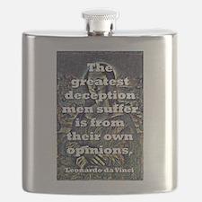 The Greatest Deception - da Vinci Flask
