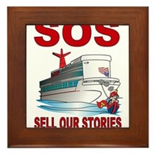 SOS Framed Tile