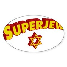 SuperJew Rectangle Decal