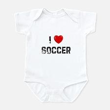 I * Soccer Infant Bodysuit