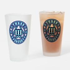 3% Bio BluGlo Drinking Glass