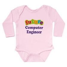 Future Computer Engineer Long Sleeve Infant Bodysu