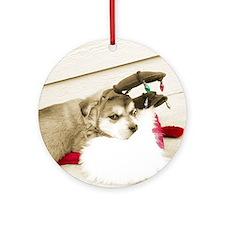 """Chester"" Porcelain Ornament"