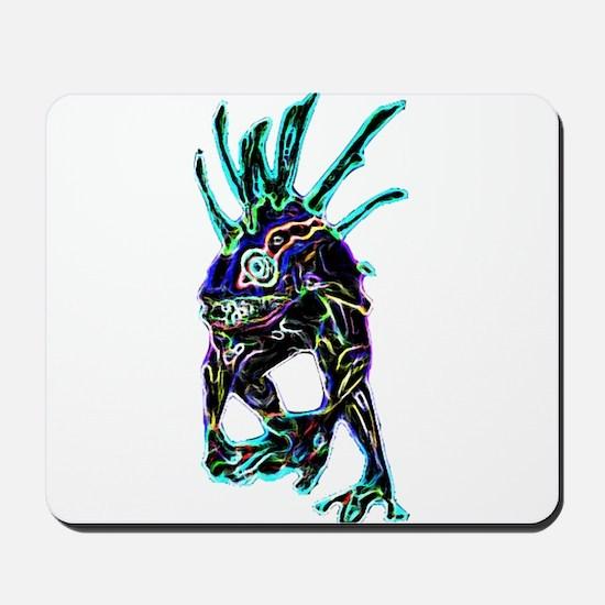 Neon Murloc Mousepad