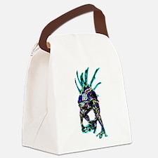 Neon Murloc Canvas Lunch Bag